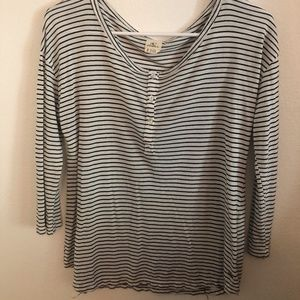O'neill striped shirt!